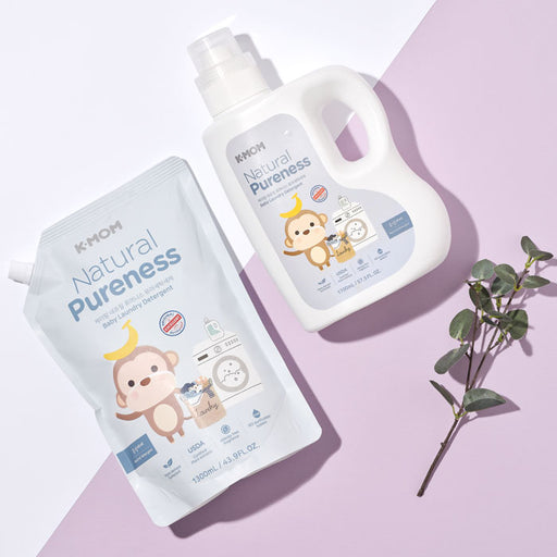 [Pre-Order] Natural Pureness Baby Laundry Detergent USDA Organic (Bottle + Refill)