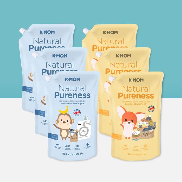 [Pre-Order] Natural Pureness Baby Laundry Detergent USDA Organic (1300ml Refill)