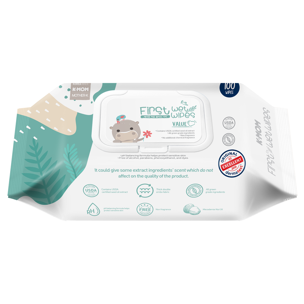 K-Mom First Value Wet Wipes