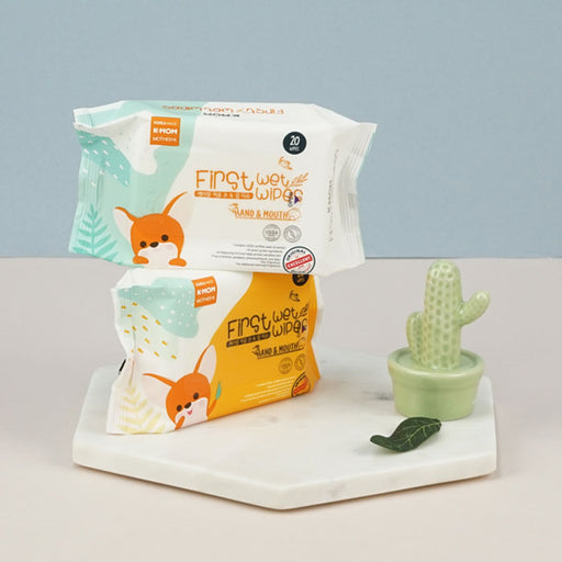 [Pre-Order] First Hand & Mouth Wet Wipes (20pcs)