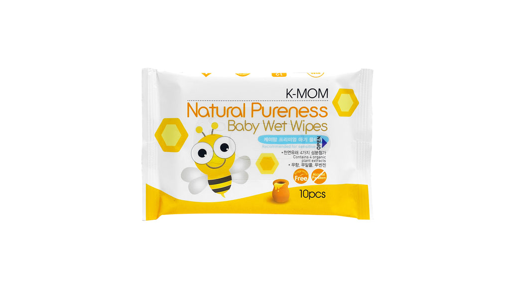 Organic Basic Pocket Wipes 10s
