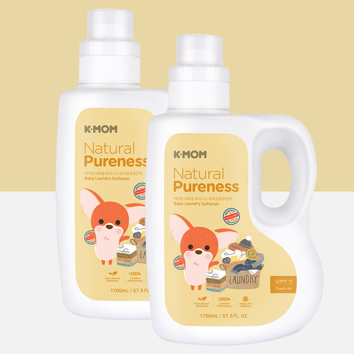 [Pre-Order] Natural Pureness Baby Laundry Softener USDA Organic (1700ml Bottle)
