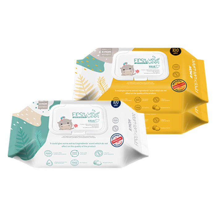 First Value Wet Wipes (100pcs)