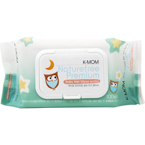 Organic Premium Wipes with Lid 100s