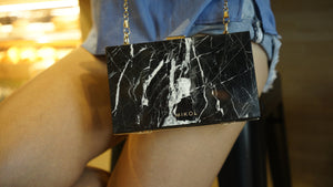 Introducing The NEW Mishi Real Marble Clutch Purse
