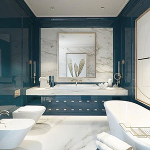 Pro Tips: How To Give A Small Bathroom An Elegant Vibe