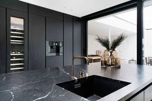 Nero marquina kitchen counter