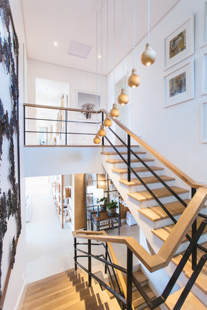 Wood Interior Stairs