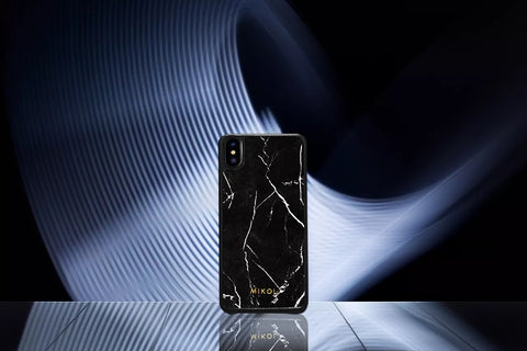 Nero Marquina iPhone Xs case