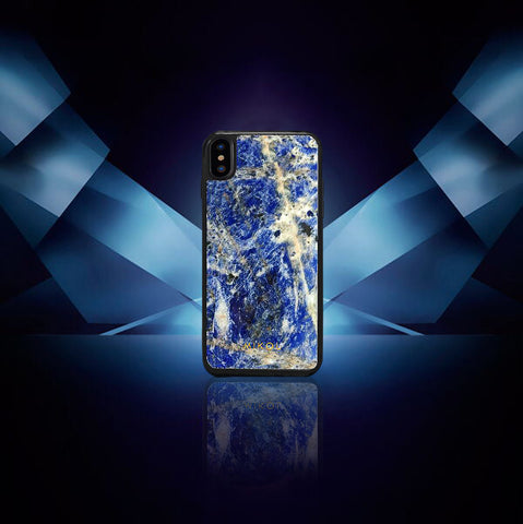 Laguna blue iPhone Xs case