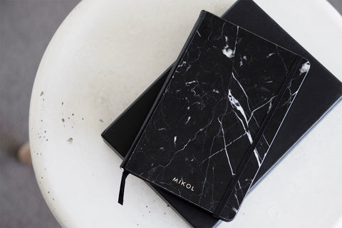 Real Marble Notebook Journal