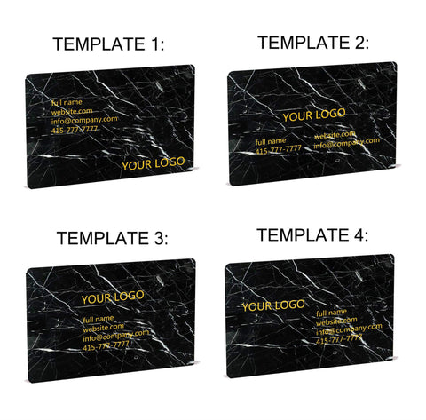 Real marble business cards custom made for you mikol production starts after your confirmation with every order our clients receive a digital proof for review and approval production begins only after you reheart Choice Image