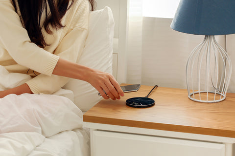 bedroom wireless charger