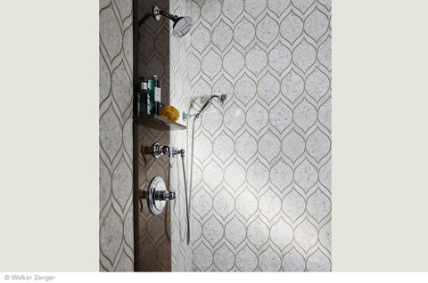 Marble Mosaic Showers