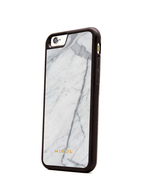 Carrara White (Black Border) Marble iPhone Case (Limited Quantity) - MIKOL - 3