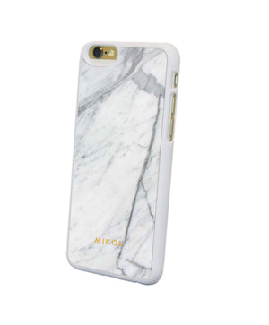 Carrara White Marble iPhone Case - MIKOL - 3