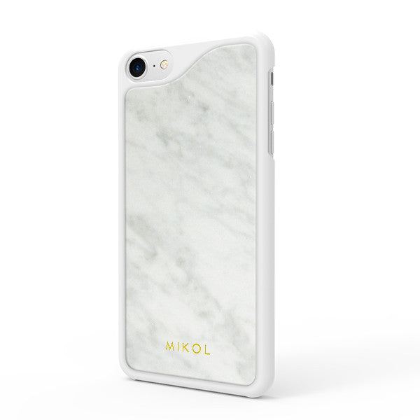 Carrara White Marble iPhone Case - MIKOL - 1