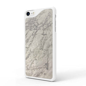 Leather Finish Carrara iPhone Case