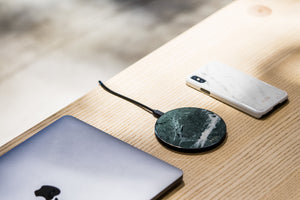 Emerald Green Marble Wireless Charging Pad (Now Available!) - MIKOL