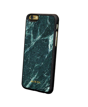 Emerald Green Serpentine Marble iPhone Case - MIKOL - 3
