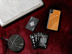Nero Marquina Marble Wireless Charging Pad (Now Available!) - MIKOL