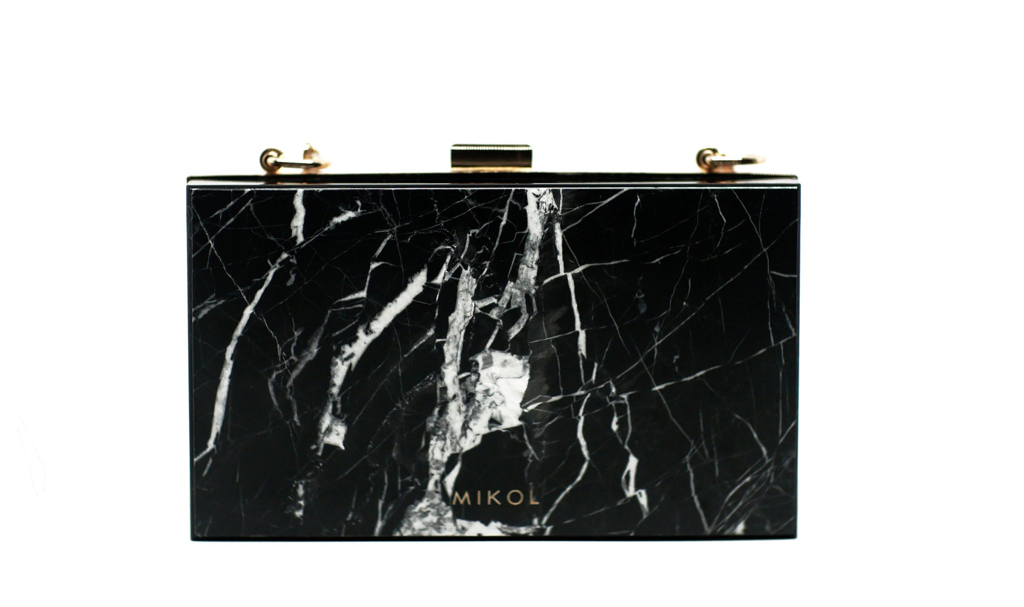 e887909438c4 Mish Nero Marquina Marble Clutch (Available Now!) - MIKOL