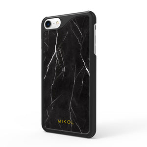 Nero Marquina Marble iPhone Case - MIKOL - 1