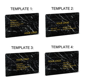 Light Emperador Marble Business Cards - MIKOL