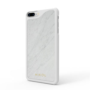 Carrara White Marble iPhone Case - MIKOL - 2