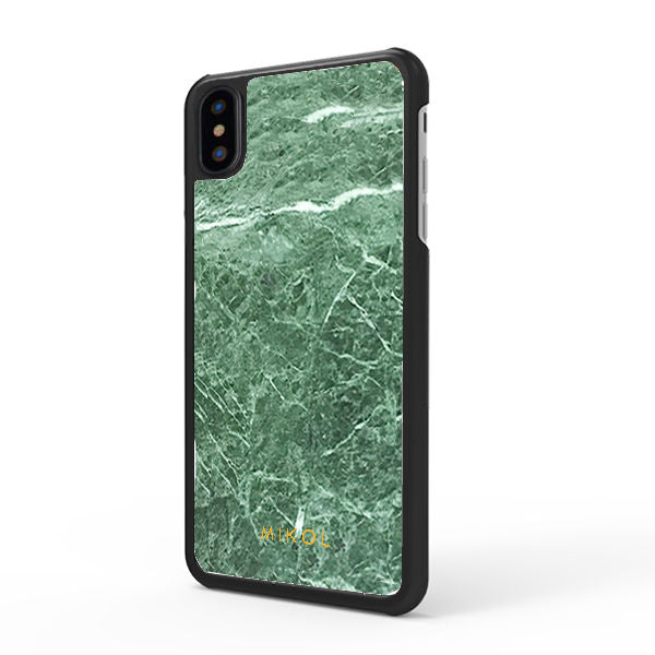 d8befc4e4ab3 Emerald Green Marble iPhone Case - MIKOL