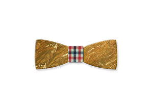 Galaxy Gold Gemstone Bow Tie - MIKOL