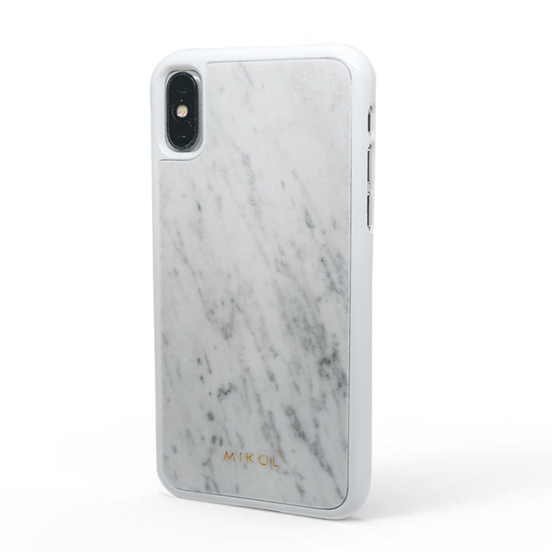 new products 5fcfb 8dac2 Carrara White Marble iPhone Case
