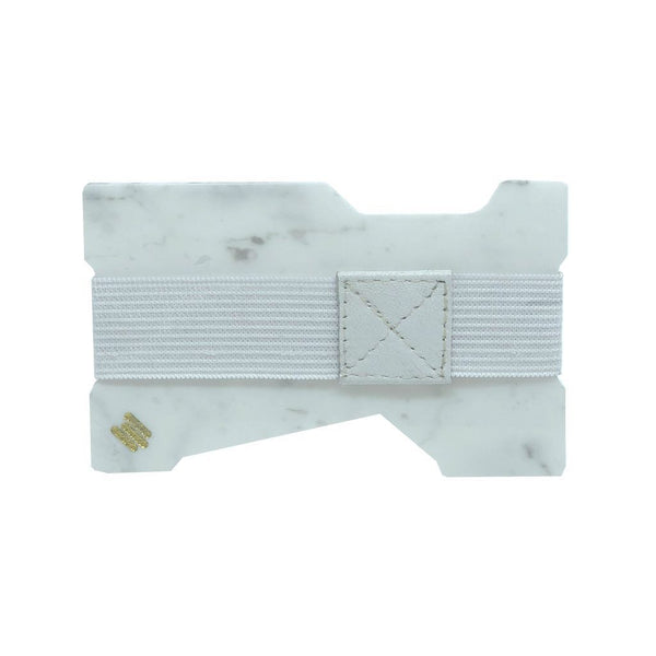 Carrara White Minimalist Wallet (Available Now 20% Off!) - MIKOL