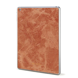 Rosso Verona Marble iPad Cover (Black Border) - MIKOL