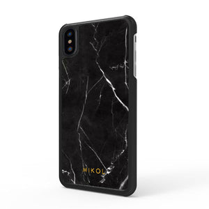 Nero Marquina Marble iPhone Case - MIKOL
