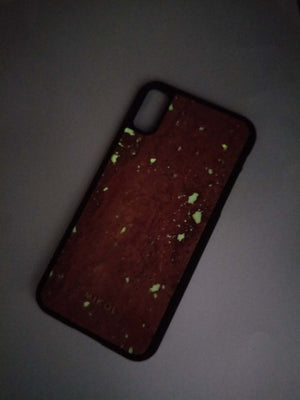 Waitomo Ruby Travertine iPhone Case (Glows in the Dark!) - MIKOL