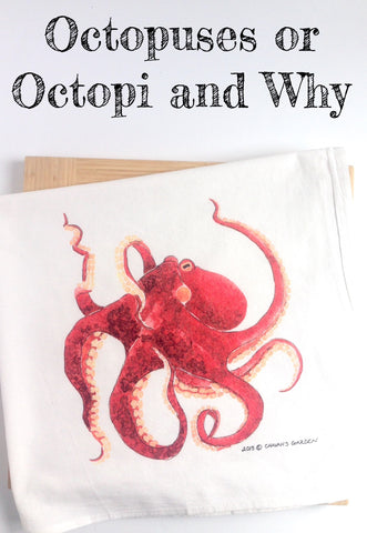 Octopuses or Octopi and Why