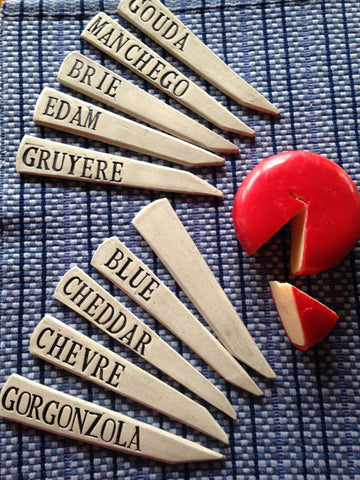 Cheese markers gift for Mother's Day
