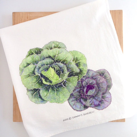 Cabbage Tea Towel