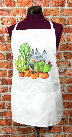 Cactus and Succulents Apron