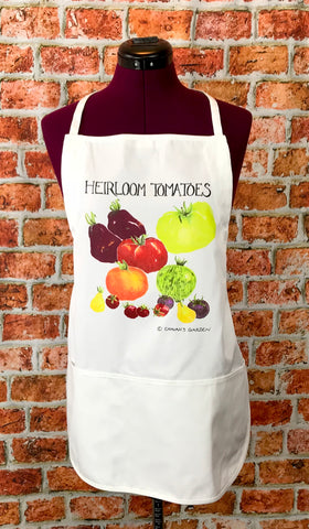 Heirloom Tomatoes Apron