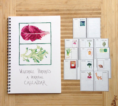 Perpetual Vegetable Calendar