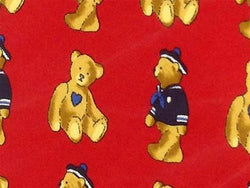 Pierre Cardin TIE Teddy Bear Marine Animal Novelty Theme Repeat Silk Necktie 2
