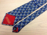 Designer Tie S T Dupont Blue Cup on Blue Silk Men NeckTie 49
