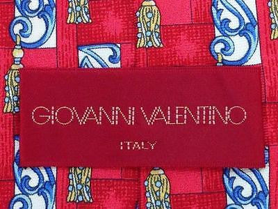 Novelty TIE Ornamental Giovanni Valentino Made in ITALY Silk Men Necktie 9