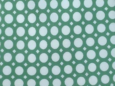 Polka Dot TIE Gherardini Firenze White on Green Silk Men Necktie 8