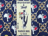 Animal Print TIE  Looney Tunes Sylvester Tweety Silk Men Necktie 20