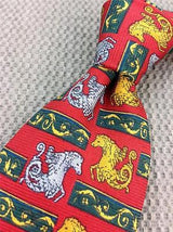 Seahorse Dragon Creature TIE Repeat Animal Novelty Silk Men Necktie 17