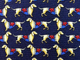 DOGS with Shirts TIE Repeat Animal Novelty Silk Men Necktie 11