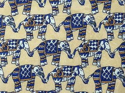 Elephant Link TIE Animal Novelty Theme Repeat Silk Necktie 3